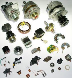 Lichtmaschine und zugehörige Teile