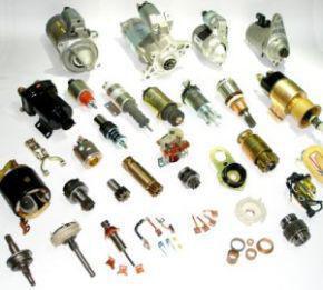 Anlasser und dazugehörige Teile