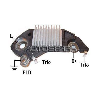 Lichtmaschinenregler MOBILETRON VR-D701