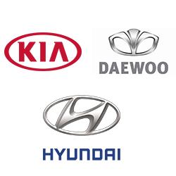 Hyundai, Kia, Daewoo